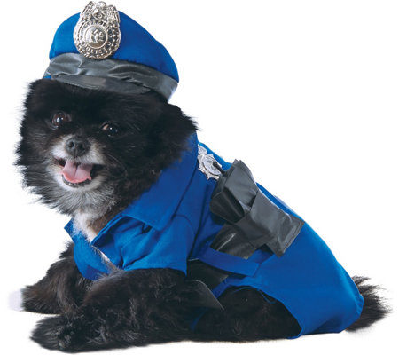 Rubie's Police Dog Pet Costume - Medium