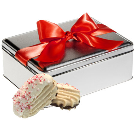 Giorgio Cookie Company 12-Piece Peppermint Cookies Gift Tin