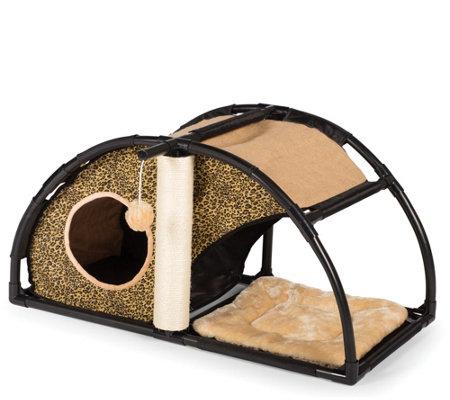 Prevue Pet Products Catville Condo Leopard Print 7200