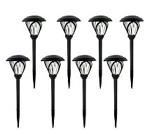 Paradise 8-piece Deco Solar Landscape Light Set - M55970