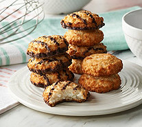 Poppies 48 Coconut & Chocolate Coconut Macaroons - M56271