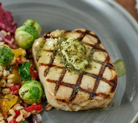 Rastelli Market Fresh (8) 7-oz Prime Pork Ribeye Steaks with Butter —  QVC com