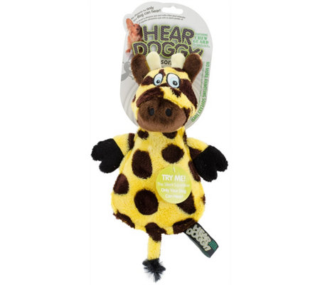 Hear Doggy Flattie Giraffe with Chew Guard