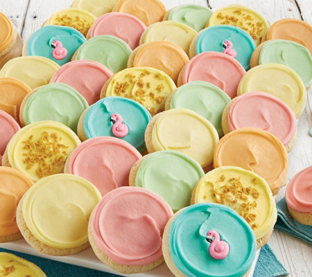 Cheryls 36-Piece Summer Citrus cookies