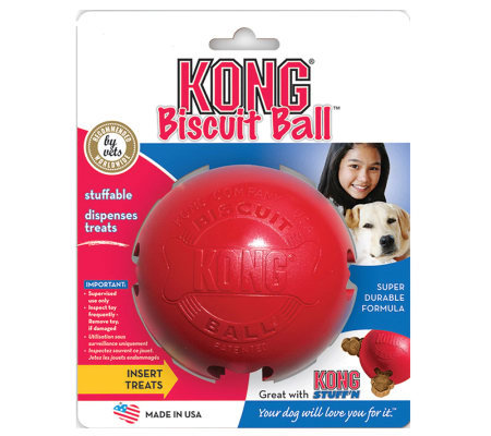 Small Biscuit Ball Dog Toy