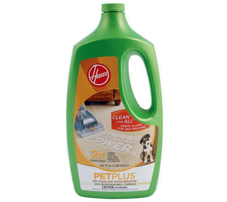 Hoover 2X PetPlus Pet Stain & Odor Remover 64 oz.