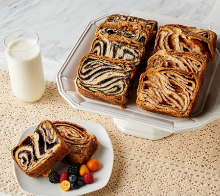 Craft House Bakery (14) 3.5 oz Individually Wrapped Babka