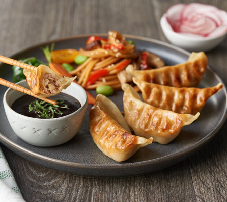 The Perfect Gourmet 90 Piece Potstickers Auto-Delivery