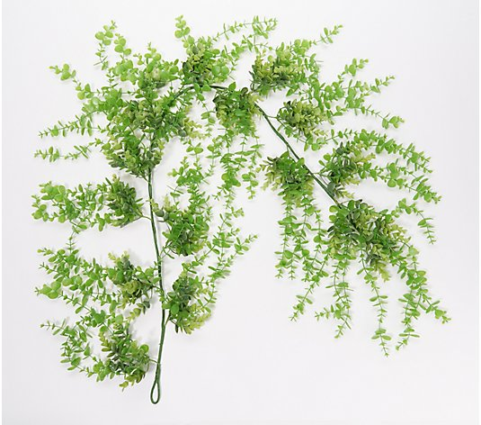 Wicker Park Indoor/Outdoor Faux Cascading Vine Garland