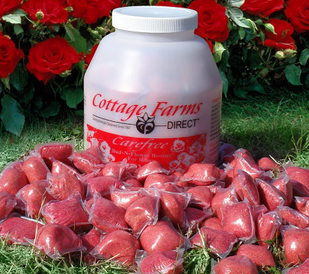 Cottage Farms Bud N Flower Rose Booster Fertilizer Packs