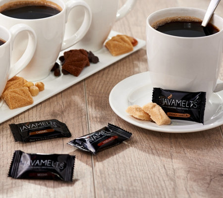 Javamelts 40-Piece Flavored Coffee & Tea Sweeteners