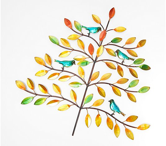 Plow & Hearth Tree of Life Multi-Color Wall Art