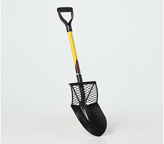 "40""Smart Shovel with Built-In Dirt Grate & Step Plate by Tracey Tools"