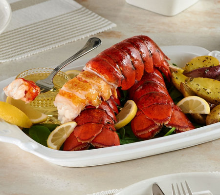 Greenhead Lobster (4) 7-8 oz. Lobster Tails w/ 8 oz. Butter