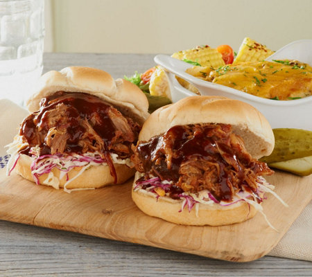 Corky's BBQ (6) 1-lb Competition Pulled Pork Auto-Delivery