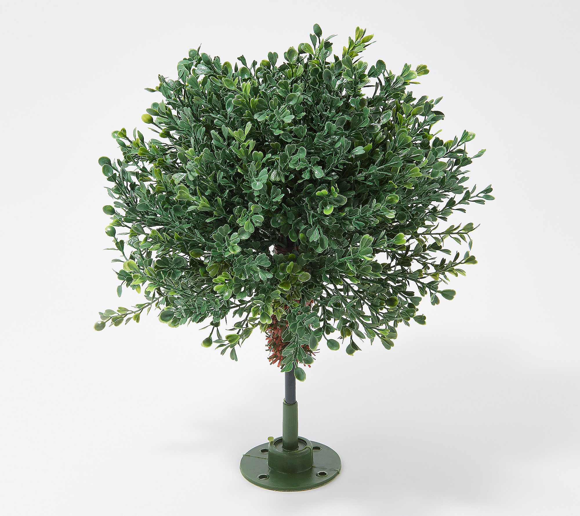 English Gardens Indoor Outdoor 10 Boxwood Sphere With Ground Stake Qvc Com