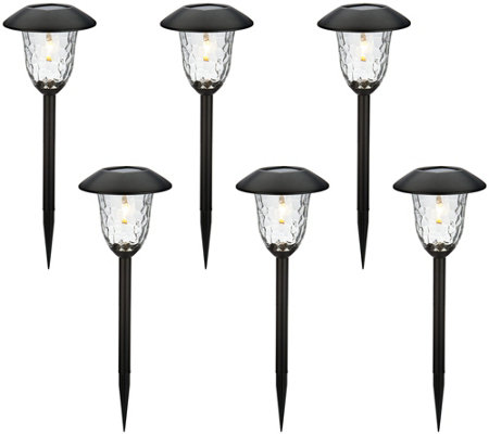 Paradise Set of 6 V-Filament Solar Light Set