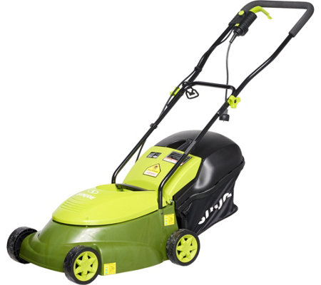 "Sun Joe Pro Series 14"" Electric Lawn Mower w/ Grass Catcher"