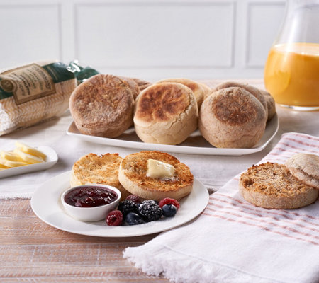 Wolferman's 32-Piece Signature English Muffin Assortment