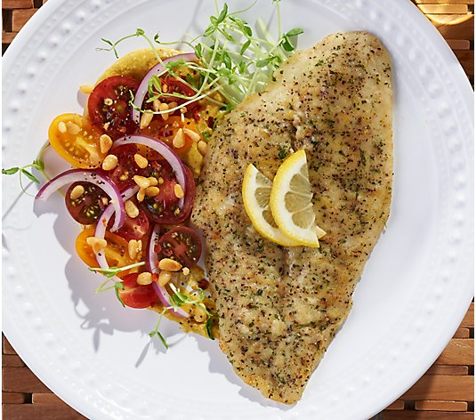 Anderson Seafoods (10) 5-oz Lemon Pepper Sole Auto-Delivery