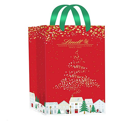 Ships 12/7 Lindor 75-pc Holiday Gift Bag of Assorted Truffles