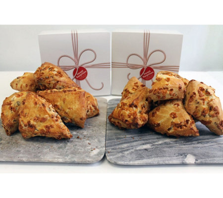 David's Cookies 16-piece Butterscotch Pecan Scones