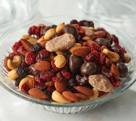 SH 11/5 Germack (3) 15-oz Jars Winter Wonderland Nut Mix
