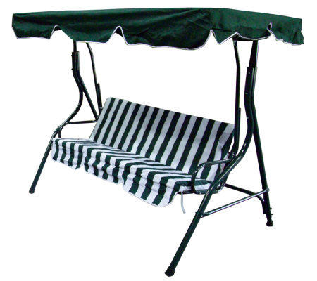 Heavy Duty Outdoor Swing Chair With Canopy Qvc Com