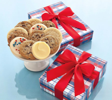 Cheryl's Summer Cookie Box - 12 Assorted Cookies