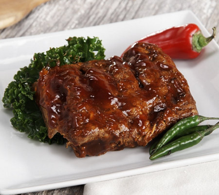Bubba's Q (4) 18 oz. & (1) 10 oz. De-Boned Baby Back Rib Steaks