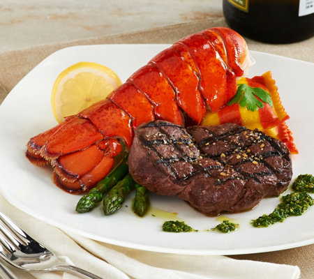 Rastelli (4) 6 oz. Filet Mignon & (4) 5-6 oz. Lobster Tails