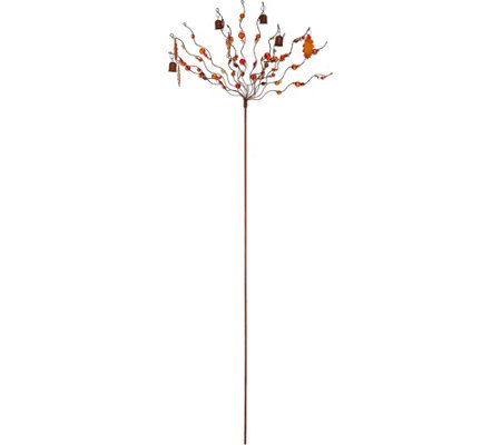 Ultimate Innovations Seasonal Bells U0026 Beads Garden Stake
