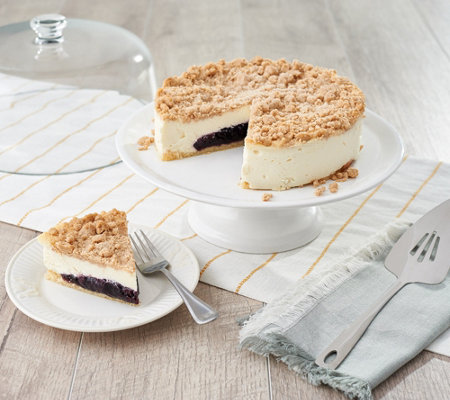 Junior's 3-lb Blueberry Cobbler Cheesecake