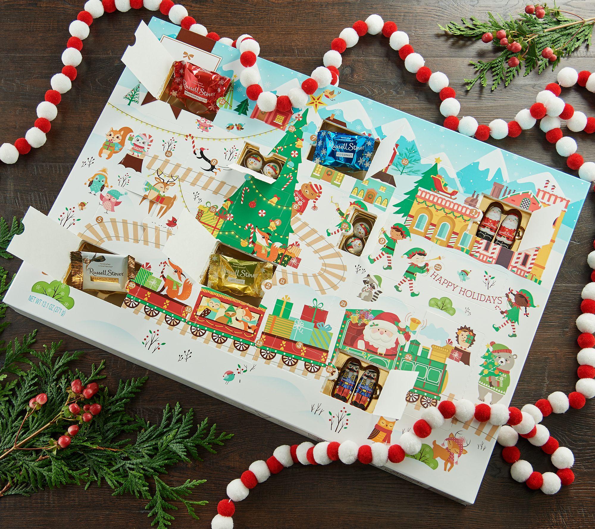 Russell Stover Assorted Novelties Advent Calendar - QVC.com