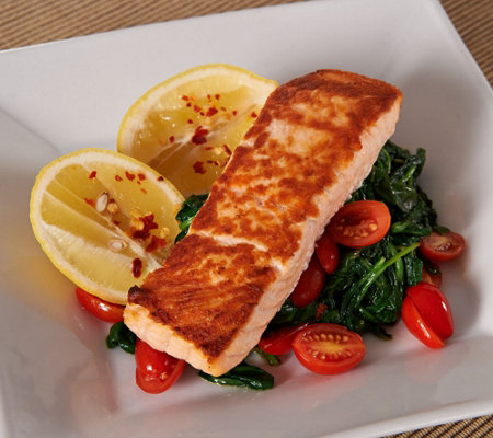 Anderson Seafoods (8) 6oz. Fresh Scottish Salmon Filets
