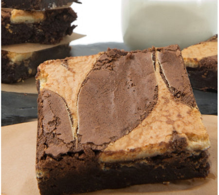 David's Cookies 18-Pack Cheesecake Brownies