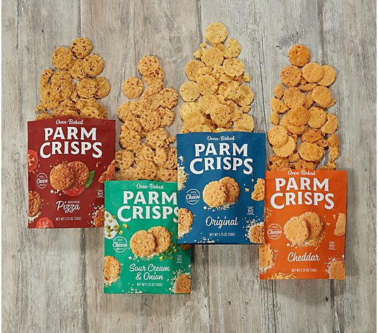 ParmCrisps (8) 1.75-oz Bags of Cheese Crisps Variety Pack