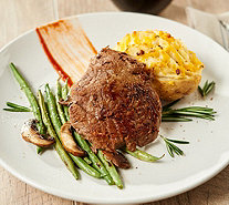Kansas City 8 (5 oz.) Top Sirloin Steaks & 8(5oz.) Twice Baked Potatoes - M62389