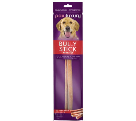 "12"" Pawluxury Odor-Free Thick Bully Stick"