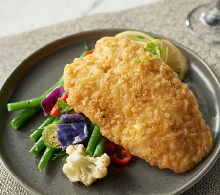 Anderson Seafoods (10) 5.5-oz Potato Crusted Tilapia Auto-Delivery