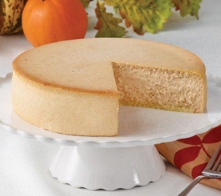 "Junior's 8"" Pumpkin Cheesecake"