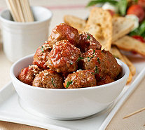 Mama Mancini's 80 Count Beef or Turkey Mini Meatballs with Sauce - M54092