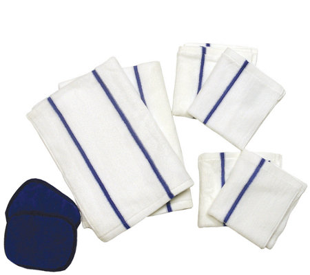Don Aslett S 8 Piece Microfiber Kitchen Towel Set