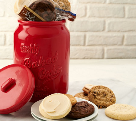 Cheryl's 18 Piece Cookies in Mason Cookie Jar