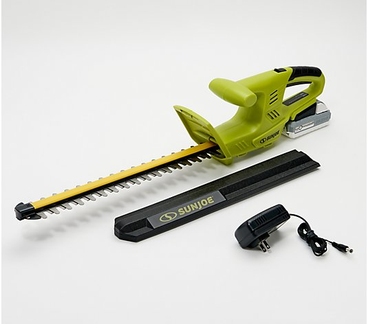 Sun Joe 24V iON+ Cordless 18-Inch Hedge Trimmer