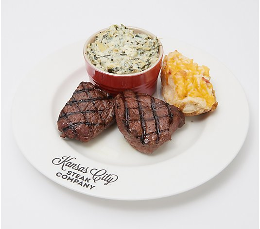 Kansas City (8) 4-oz Top Sirloin Steaks with (8) 5-oz Potatoes