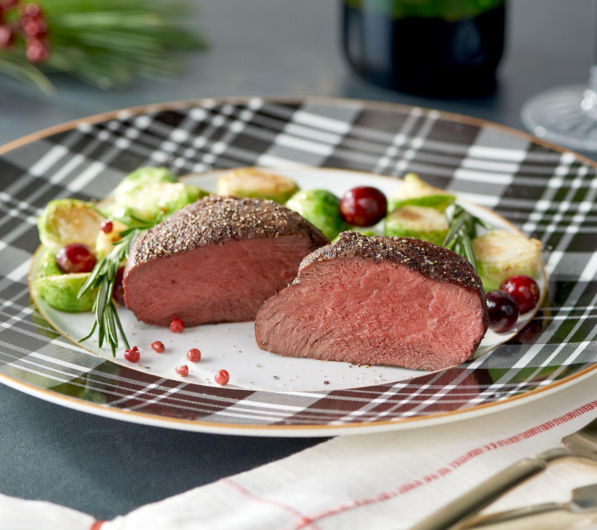 Receive ten 6-oz filet mignon steaks