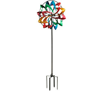Plow & Hearth 6' Decorative Flower Sprinkler Spinner - M55695