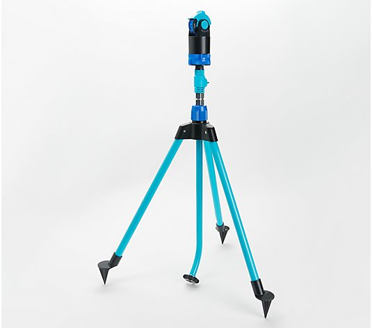 Aqua Joe 360 Degree Tripod Sprinkler and Mister