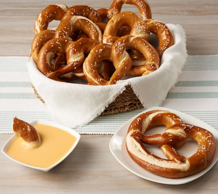 Prop And Peller (12) 5 oz. Bavarian Craft Pretzels with Cheese & Salt